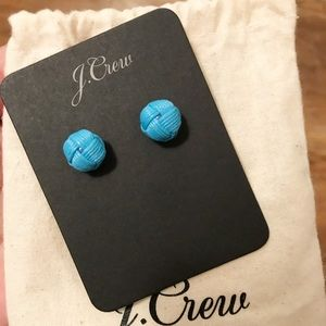 J.Crew Love knot stud earrings